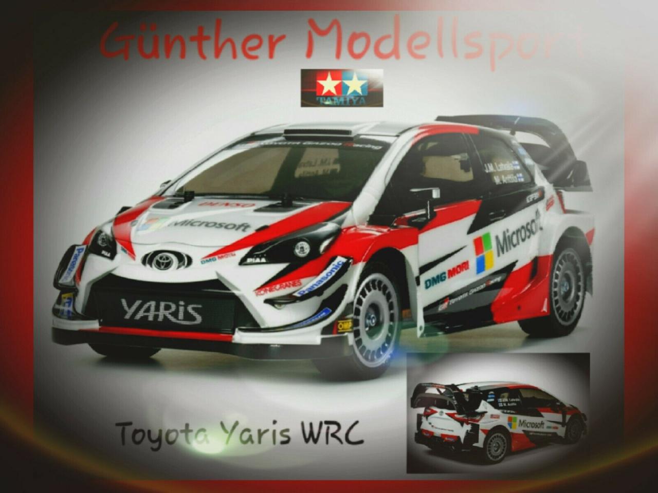 Tamiya 1:10 RC Toyota Gazoo WRT/Yaris Rac.TT-02, 300058659