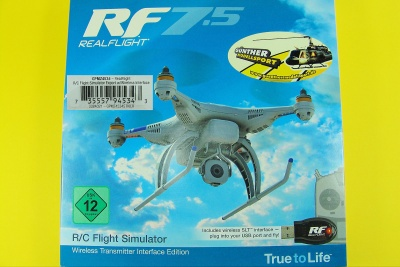 RealFlight 7.5 Wireless Interface Version Nur SLT