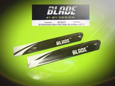 Hi-Performance Hauptrotorblätter mCP X Nr.: BLH3510 v. Blade