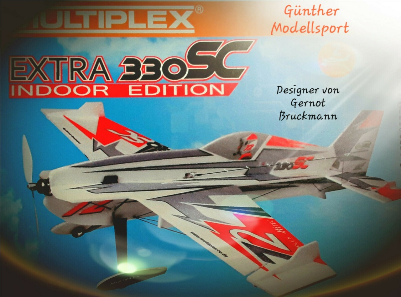 Multiplex BK Extra 330SC Indoor Edition rot/silber, 00645