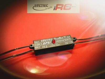 DPSI Micro DualBat 5.9V/7.2V MPX - Akkuweiche
