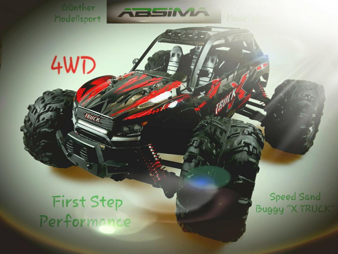 Absima 1:16 Elektro High Speed Sand Buggy X Truck