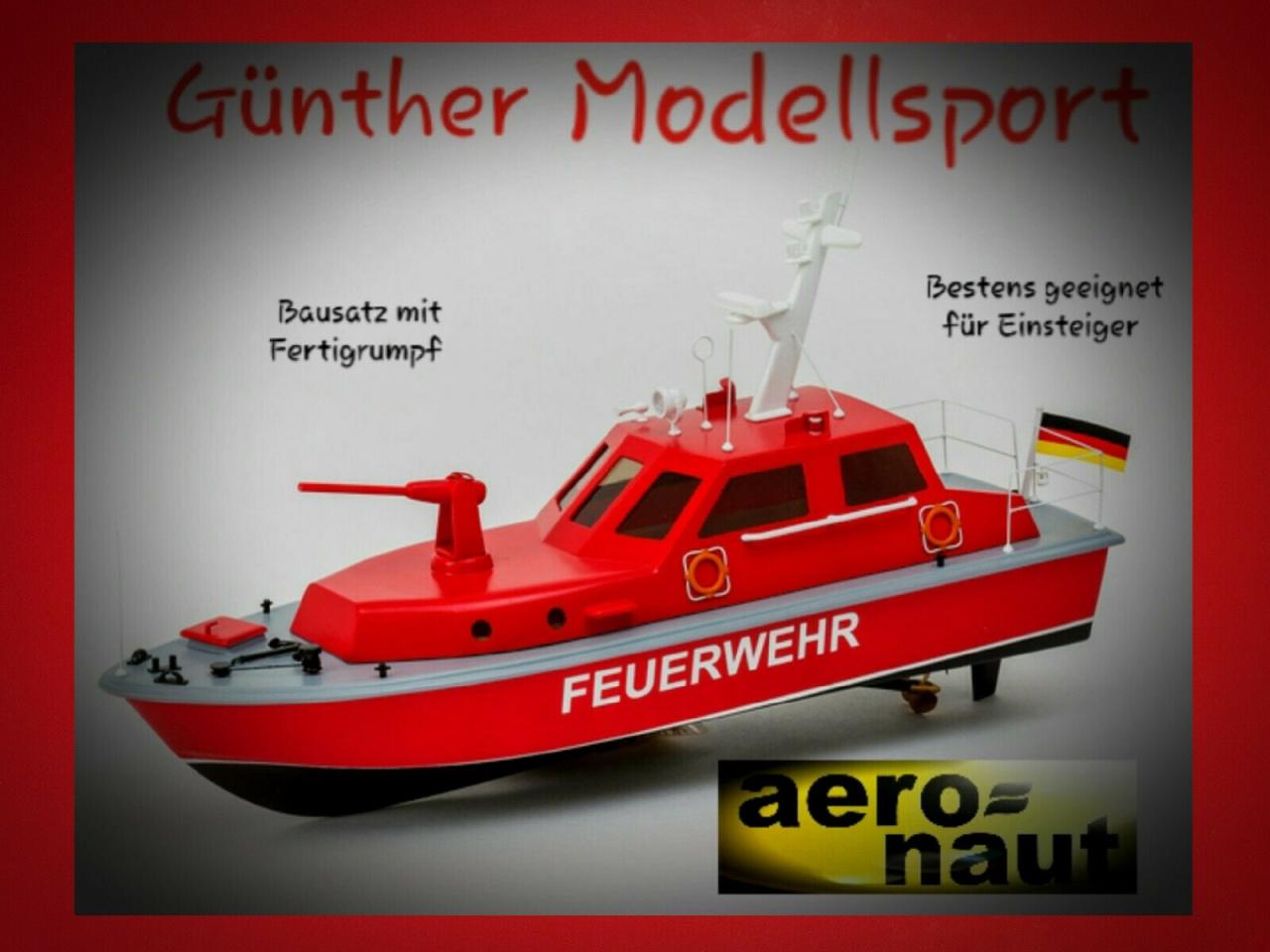 aeronaut Behördenschiff Feuerlöschboot 3063/00, Bausatz