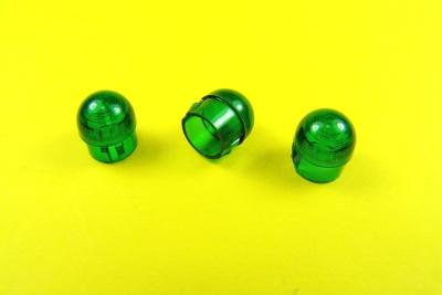 Abdeckkappe L (11mm) rund (3St.) 3xGrün