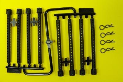Karosseriehalter-Verlängerungsset 5,5 mm (4)