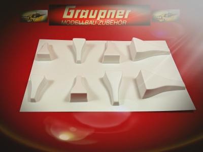 Lufthutzen für Elektro-Modelle, Nr.: 2998 v. Graupner
