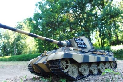 Königstiger - 6mm BB - 360° Turmdrehung - Sommertarn