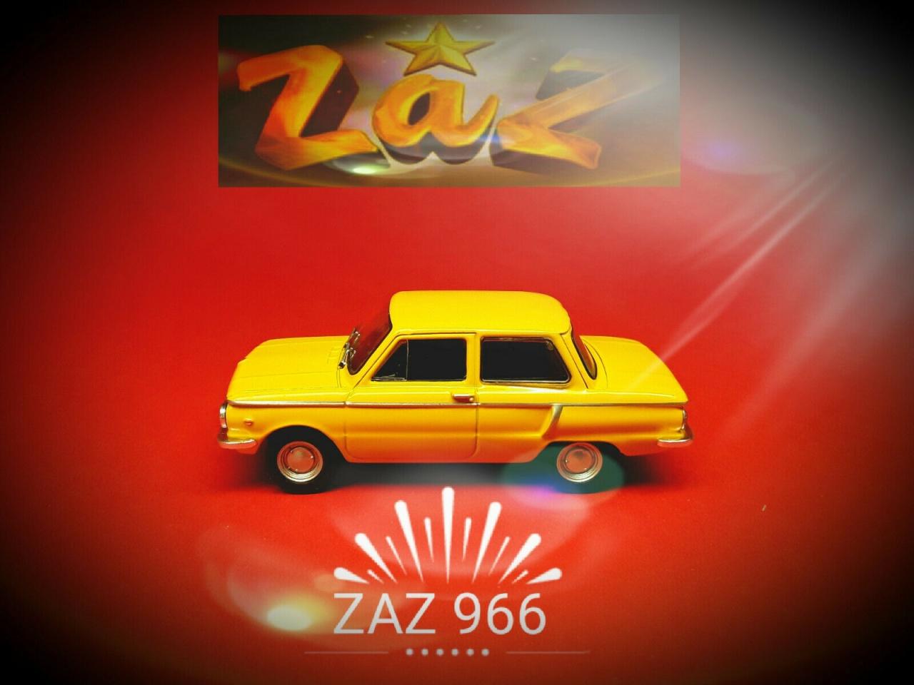 Ixo 431003 saporoshez ZAZ 966 1972 escala 1:43 blister