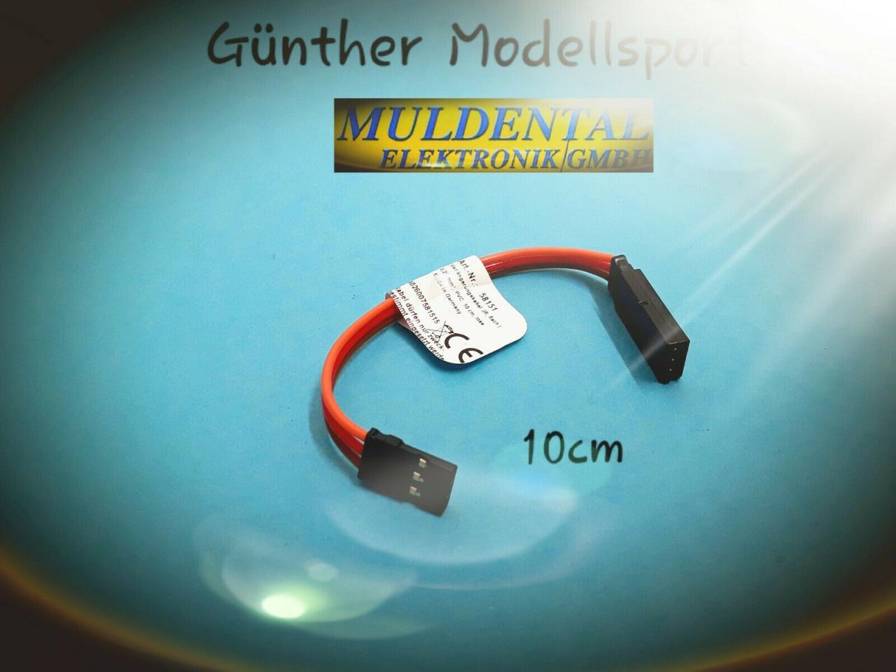 Muldental Elektronik PVC Verlängerungskabel JR, 0,25qmm,