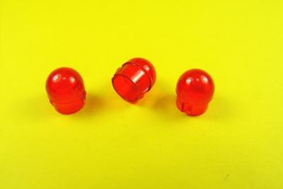Abdeckkappe L (11mm) rund (3St.) 3xRot