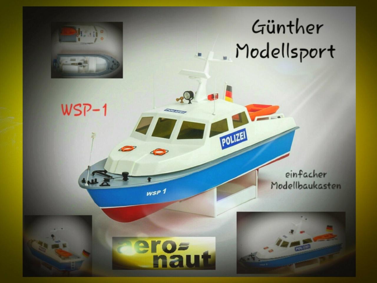 aeronaut Polizeiboot WSP-1, 3058/00