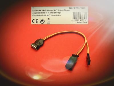 Adapterkabel USB-Schnittstelle HoTT Sensoren/Manager