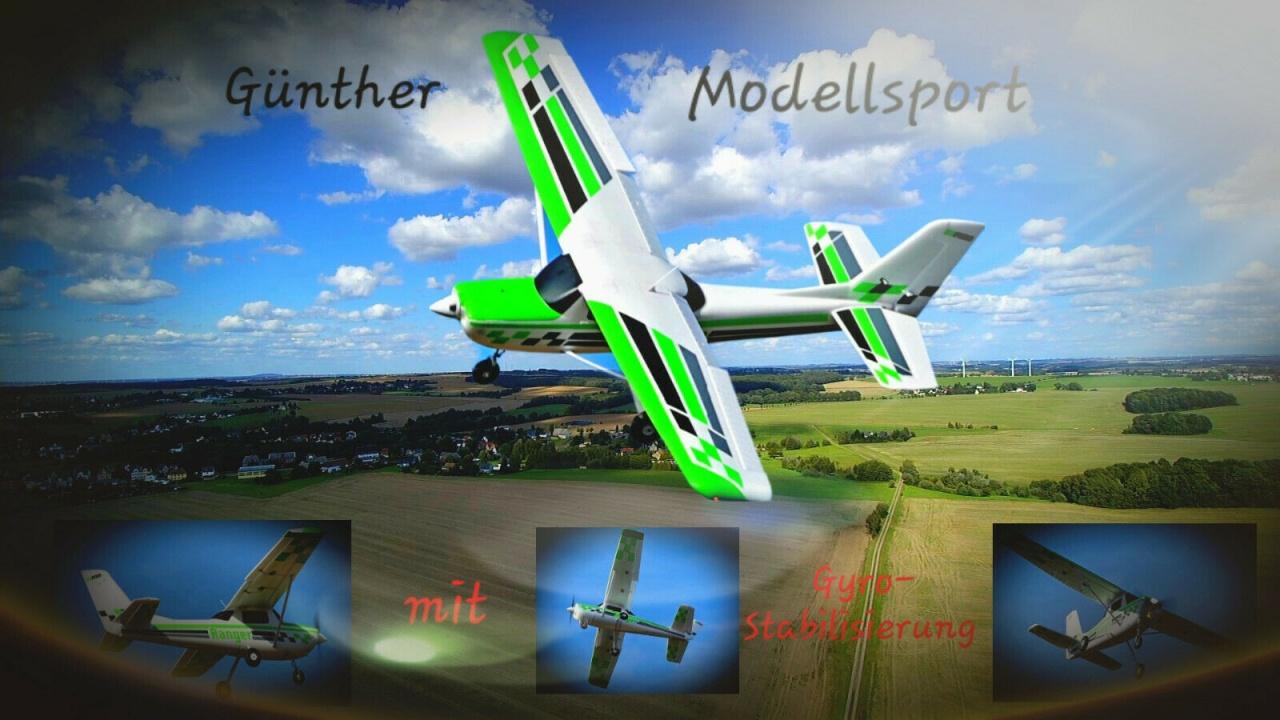 FMS Ranger 1800mm Reflex-Gyro PNP, FMS123P-REF