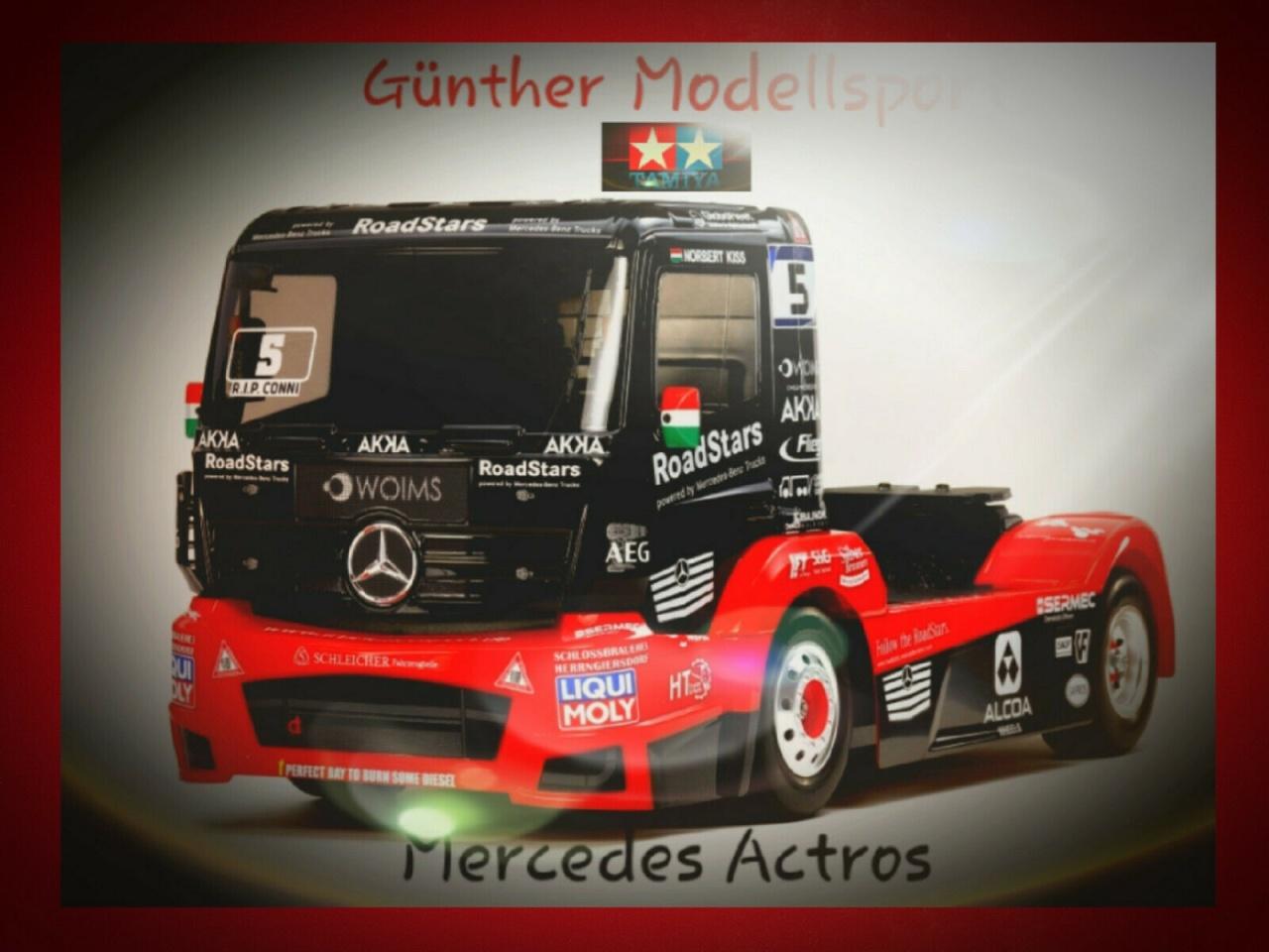 Tamiya 1:14 RC M-B Race Truck Actros MP4 TT-01E, 300058683