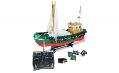 1:24 RC-Fischkutter Cux-13 100% RTR 2.4 GHz