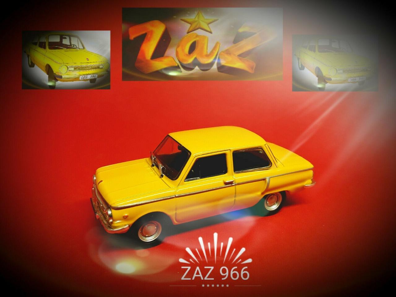 IXO 431003 (Blister) Saporoshez ZAZ 966 1972 Maßstab 1:43