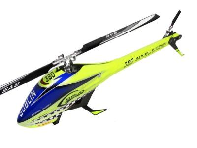Goblin 380 Kit gelb/blau mit Rotorblätter