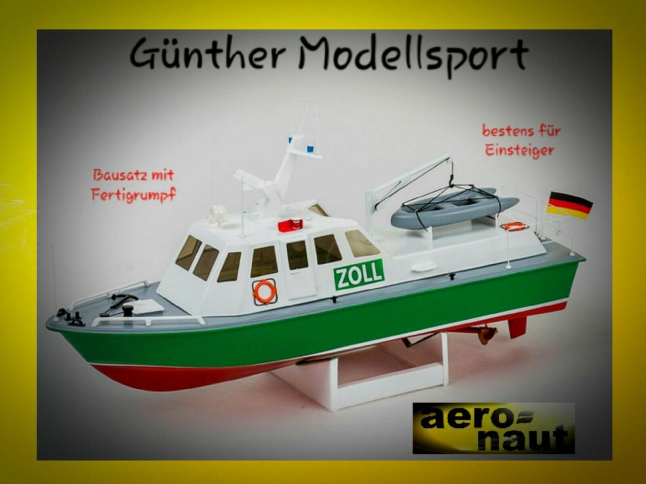 aeronaut Behördenschiff Zoll Boot, 3062/00, Bausatz