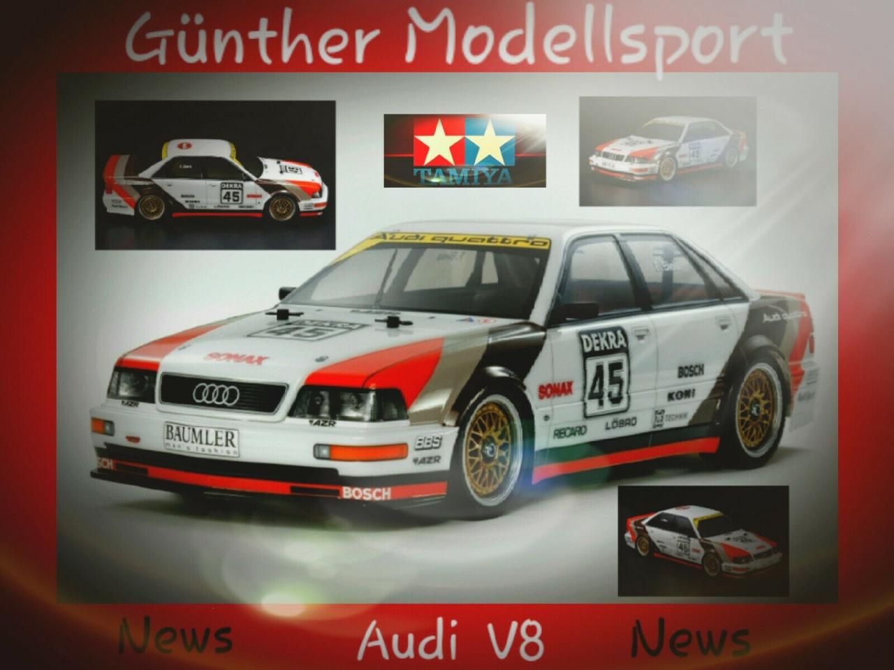 News!  1:10 RC Audi V8 Tourenwagen (TT-02), 300058682