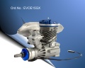Evolution 15GX2 15cc Gas Engine mit Kraftstoffpumpe
