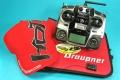 mx-12HoTT + GR-12 gyro DE; Werkzeugtasche+Mütze