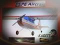 Kadett formschöner Sporthochdecker v. PEPE Aircraft